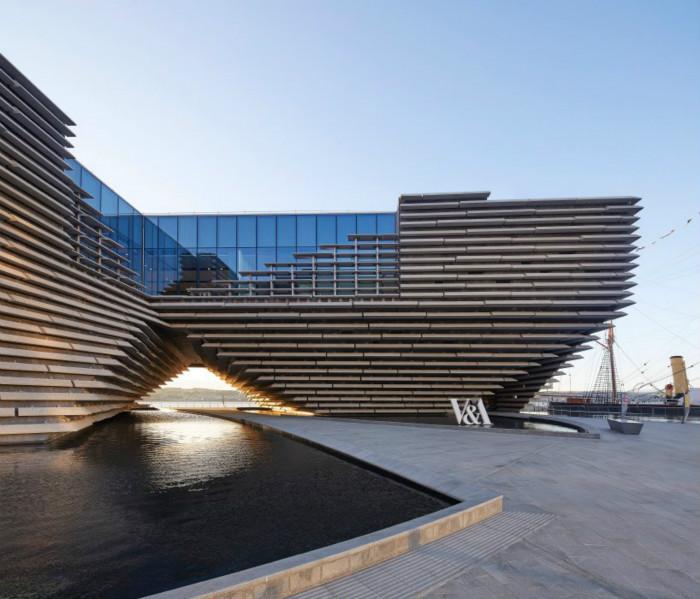 室内设计师刘沧龙分享:苏格兰第一个设计博物馆——如悬崖般的V&A dundee