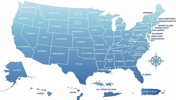 美国各州的最全优劣势解析