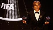 【体育早报】莫德里奇当选世界足球先生 金球奖评选将增设女足奖项