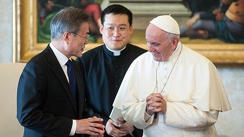 教皇方濟各回應文在寅代傳口信:若獲正式邀請將訪問朝鮮