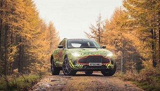 阿斯顿 马丁旗下首款SUV定名DBX 新车将于明年第四季度正式发布
