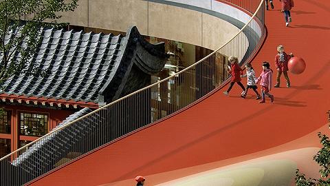 """北京胡同幼儿园的""""漂浮屋顶""""将奔跑的权利还给孩子"""