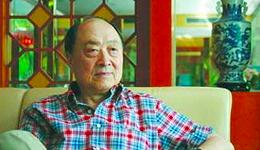 """武侠小说家萧逸去世 曾与金庸并称""""南金北萧"""""""