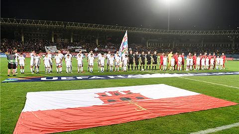 直布罗陀足球故事:一个大三学生的欧国联之旅