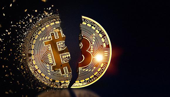 """比特币大幅下跌,""""区块链""""泡沫几何?"""