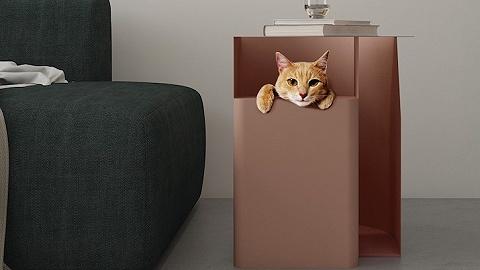 【是日美好事物】让猫咪愉快玩耍的边桌,可爱十足还能做公益的LV手环