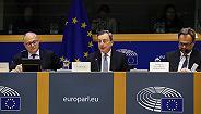 德拉吉:下调欧洲经济和通胀预期,没有讨论加息时间点