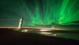 """【工业之美】这家中企花五年打造了一座连接挪威和瑞典的""""极光之桥"""""""