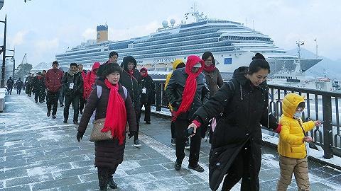 去年访日外国游客数再创新高,中国人贡献最多人均消费一万四