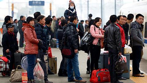 今年春运21日开始,预计全国旅客发送量将达29.9亿人次