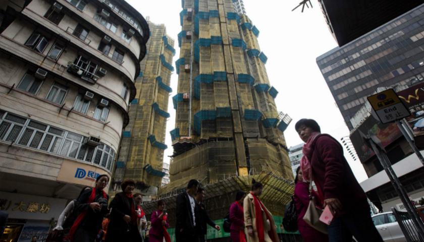 下跌的香港房价,仍然连续9年全球负担最重