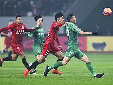 【直击】新赛季中国足坛开年之战,上港2-0国安封王超级杯