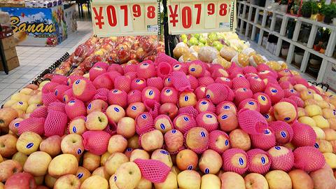 """水果涨价""""地图"""":安徽同比涨幅超30%,宁夏涨幅超20%"""