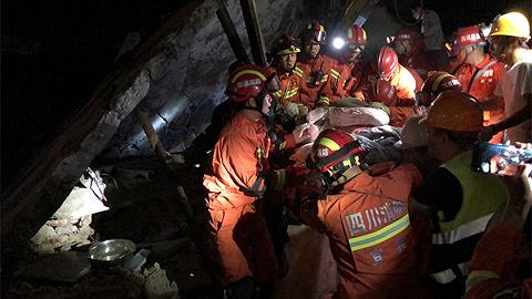 多支救援力量赶赴长宁地震灾区,当地电力正在恢复网络基本正常