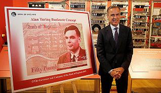 圖靈成為50英鎊新鈔人物,紙幣上的人物承載了國家怎樣的期許?