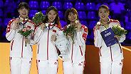 【体育晚报】击剑世锦赛中国女子重剑团体夺金 中国女篮热身赛三连胜