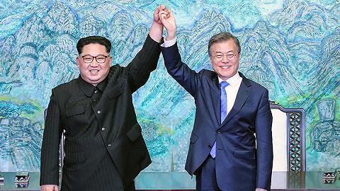 文在寅首?#32705;?#26397;韩统一时间:2045年,让One Korea屹立世界
