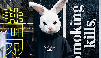 """不再只是Supreme,日本潮牌Fxxking Rabbits也着了""""盗窟""""的道"""