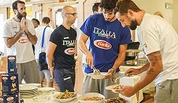 吃好出佳绩,百味来给出征世界杯的意大利男篮送来了厨师