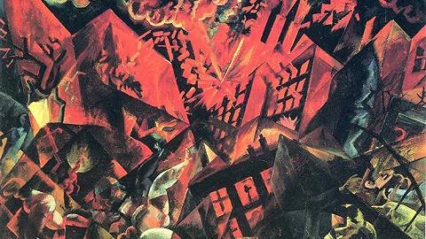 从希望到绝望,八件艺术作品中的后一战世界