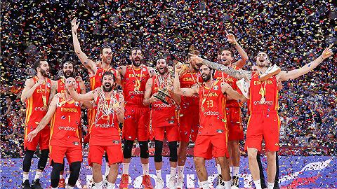 【体育早报】世界杯中国女排两连胜 西班牙男篮大年夜胜夺冠
