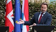 卢森堡首相会见约翰逊后独自出席发布会,要求对方拿出靠谱脱欧方案