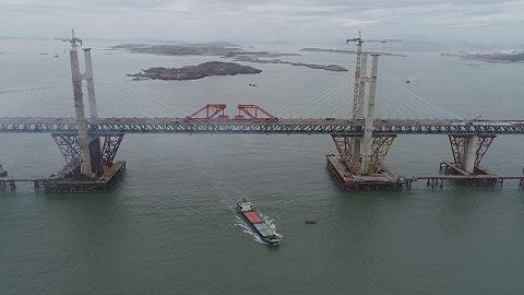 世界最長跨海公鐵兩用大橋今日貫通,預計2020年通車