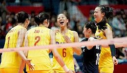 中国女排世界杯10连胜提前夺冠,赢取世界三大赛第十冠
