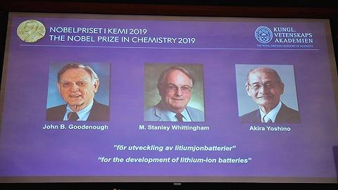 這三位鋰電池教父摘下今年諾貝爾化學獎桂冠
