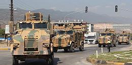 """土耳其還是動手了,向敘利亞北部發動""""和平噴泉""""軍事行動"""