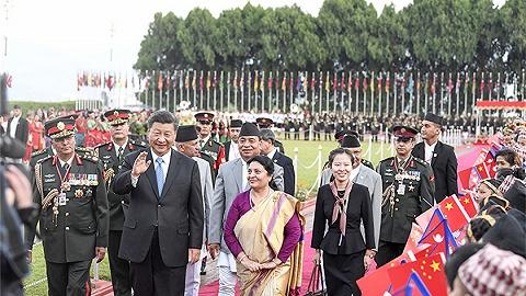 習近平出席班達里總統舉行的歡迎宴會