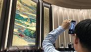郑百重作品亮相国家会展中心,描绘海上丝绸之路盛世图景