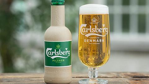 嘉士伯推出全球首款紙制啤酒瓶