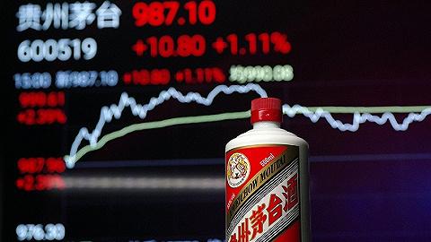 发货节奏放缓三季报增速低于预期,贵州茅台股价下挫