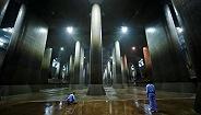 """""""地下神殿""""再度全力运转:台风""""海贝思""""致东京外下水道3天排水千万吨"""