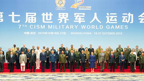 """凝聚和平力量,习近平深情寄语""""军人奥运会"""""""