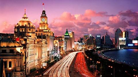 流光溢彩夜上海