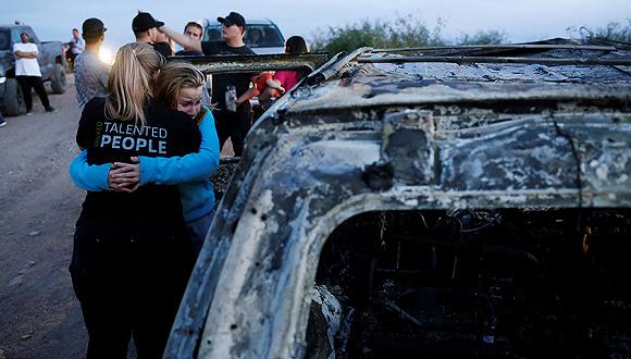 """太阳3娱乐:九名美国公民惨死墨西哥,墨总统""""拥抱而非子弹""""政策还管用吗?"""