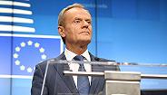 """图斯克卸任前""""干预""""英国大选,公开呼吁选民阻止脱欧"""