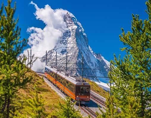 欧洲最美冬日风光,都藏在这条特制的火车线路里   火车慢游地球 NO.6图2