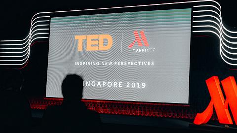 新加坡 48 小时 | 万豪携手 TED,让新加坡遇上创意智慧