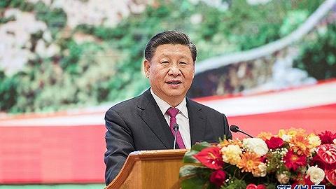 習近平出席緬甸總統溫敏舉行的歡迎宴會