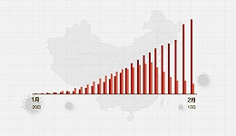 数据   (截至2月13日24时)新型冠状病毒感染肺炎病例通报例