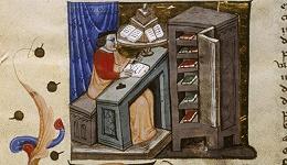"""中世纪""""护书诅咒""""与乔叟的誊抄工"""