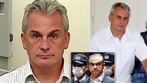 """两名""""戈恩事件""""嫌犯被捕:美国前特种兵及儿子协助其逃出日本"""