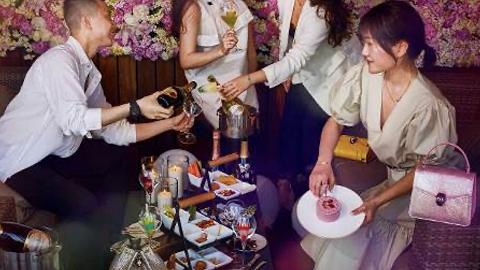 上海宝格丽酒店联合巴黎之花推出香槟鸡尾酒,灵感源于珠宝