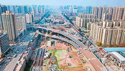 朱宏路主线桥通车,西安加速完善交通设施进行时