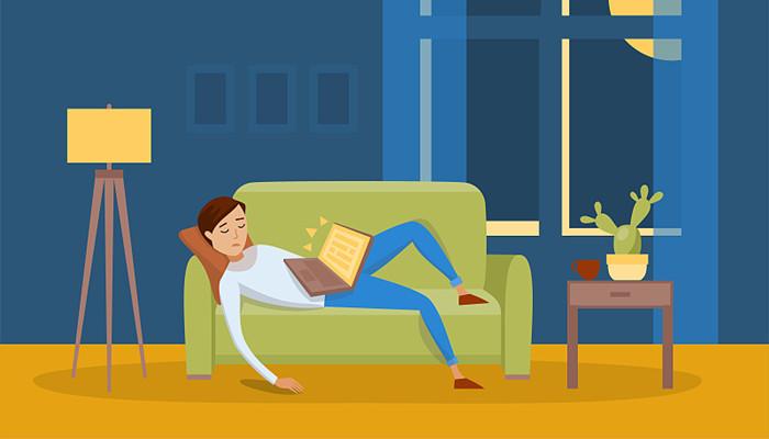 现如今,都是什么原因让你熬夜晚睡?