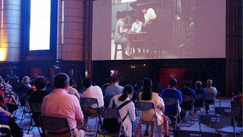 【特写】电影节不能没有露天电影,就像夏天不能少了西瓜
