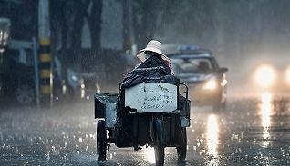【圖集】北京迎強降雨,多個公園關閉